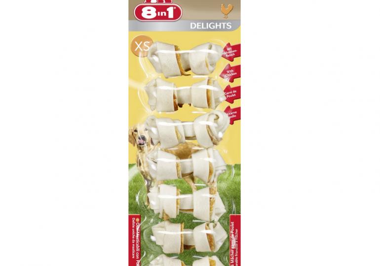 8in1 Delights Kauknochen dank Sparabo für nur 3,32€ bei Amazon