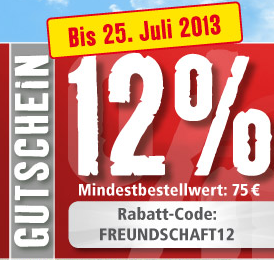 Fressnapf: 12% auf alles!