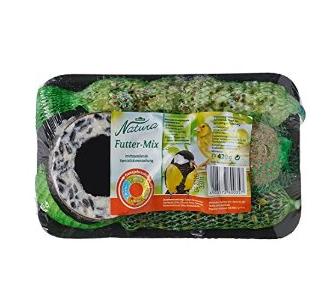 Ausgewählte Dehner Natura-Produkt kaufen und Dehner Natura Wildvogelfutter-Mix (420 g) gratis erhalten
