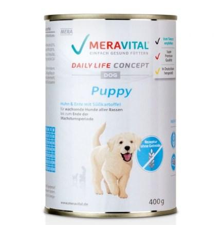 Meravital: 50% Rabatt auf das Nassfutter für Hunde und Katzen (MHD Ware)