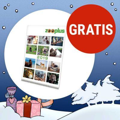 Zooplus: Jahreskalender 2019 gratis mitbestellen