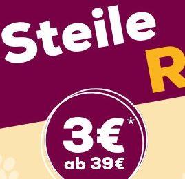 *ENDET HEUTE* ZooRoyal: Staffelgutscheine mit bis zu 8€ Rabatt