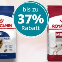 ZooRoyal: ROYAL CANIN Katzen- & Hundefutter mit bis zu 37% Rabatt
